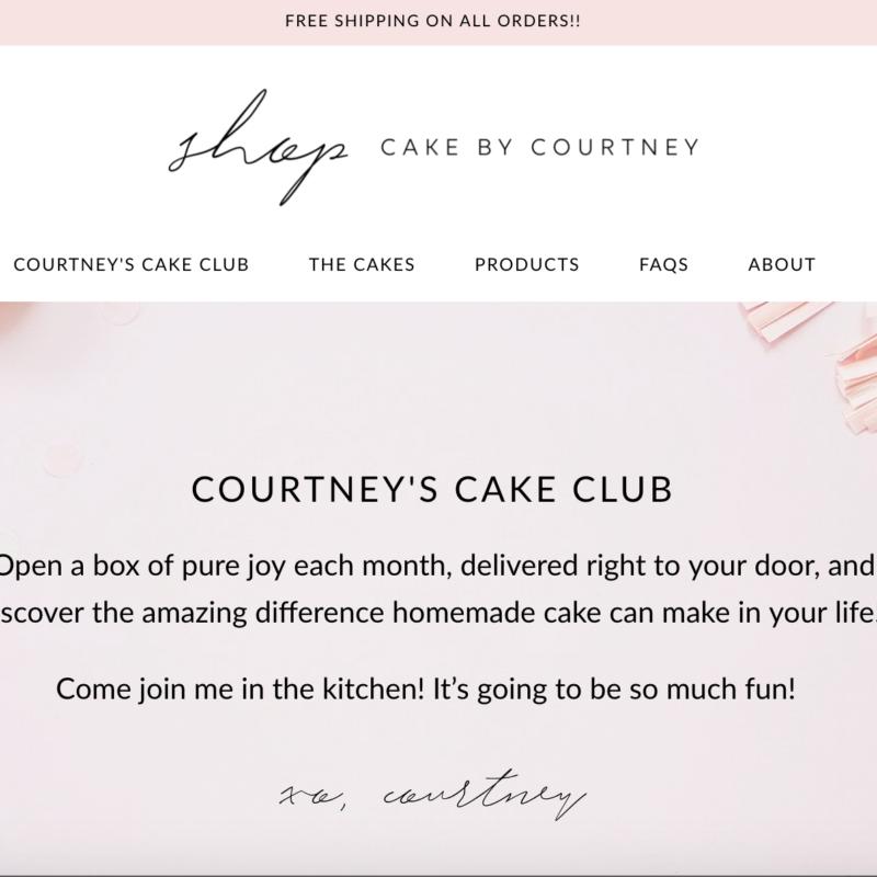 Shop Cake by Courtney | Cake by Courtney