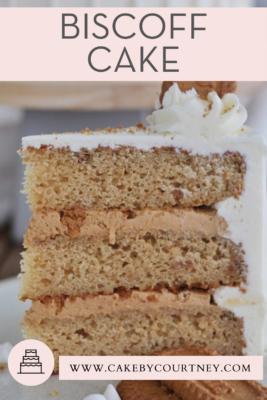 Biscoff Cake www.cakebycourtney.com