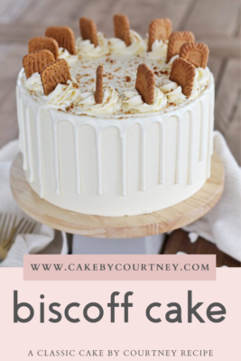Biscoff Cake by Cake By Courtney www.cakebycourtney.com