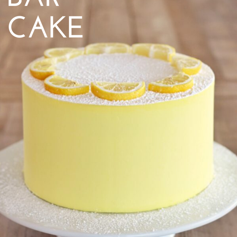 Lemon Bar Cake Cake By Courtney