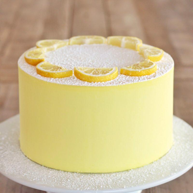 Lemon Bar Cake | Cake by Courtney