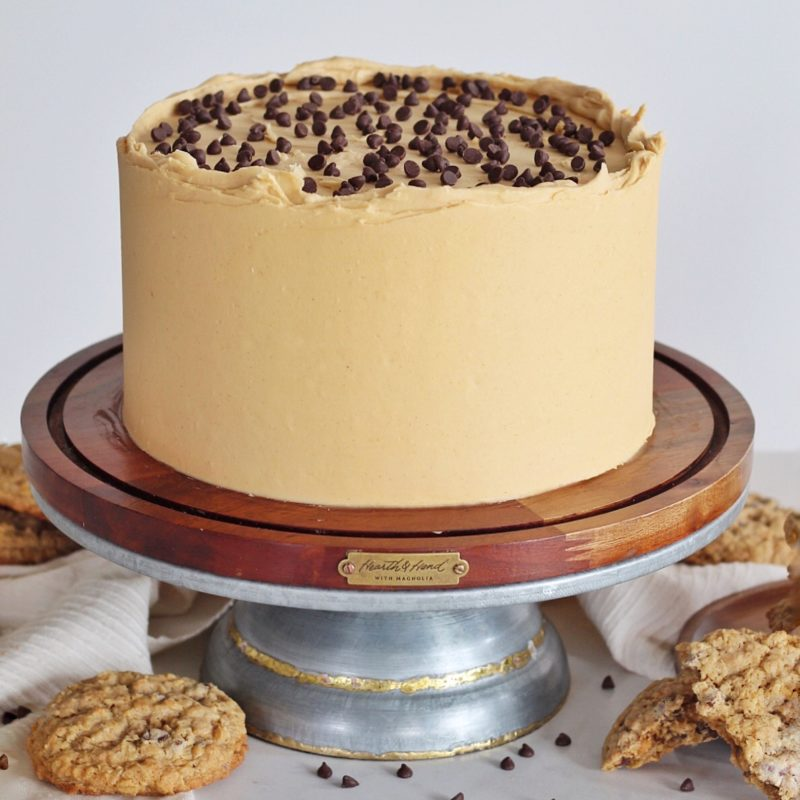 Magnolia Cookie Cake | Cake by Courtney