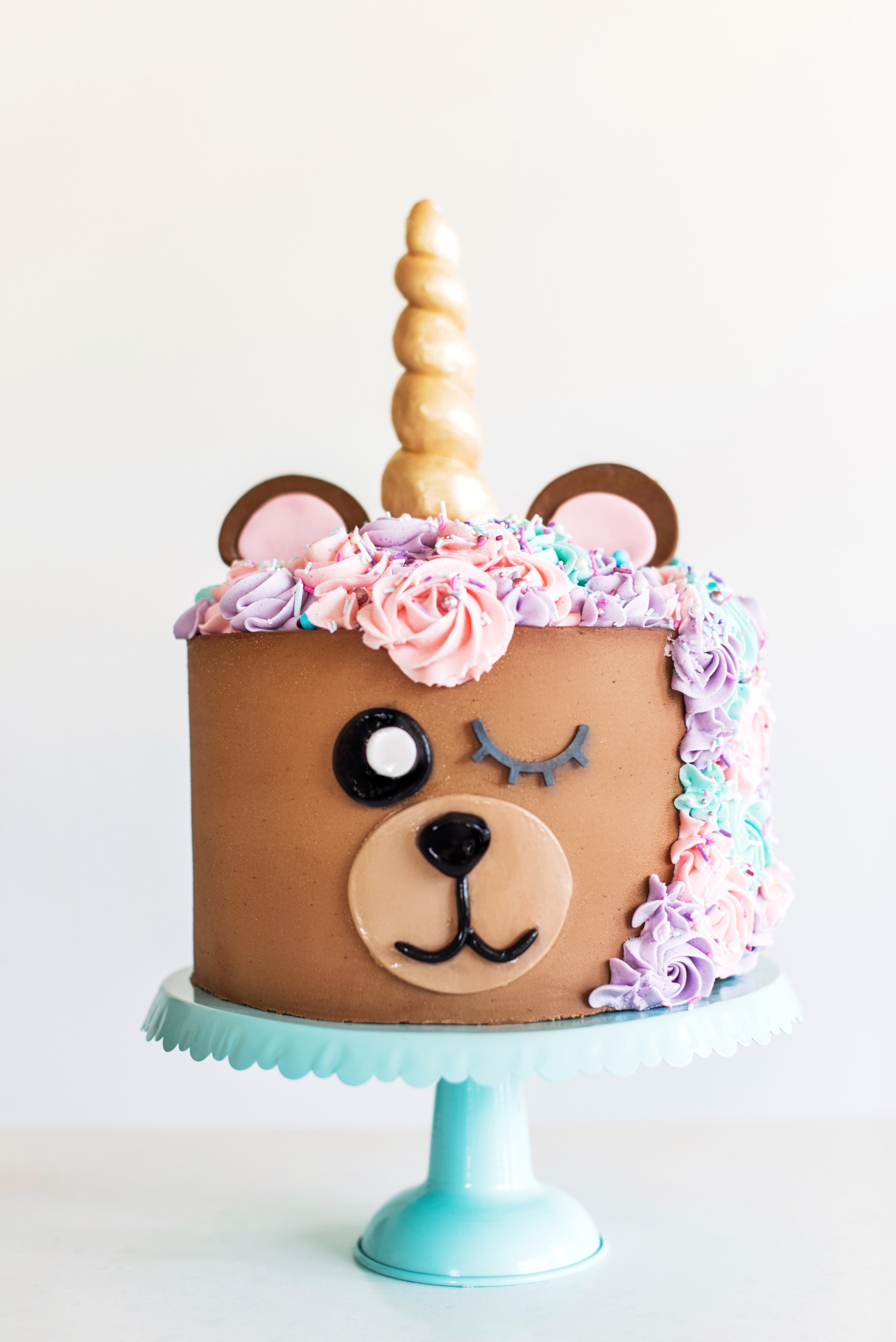 Admirable 4 Easy And Cute Animal Themed Cakes Cake By Courtney Funny Birthday Cards Online Alyptdamsfinfo