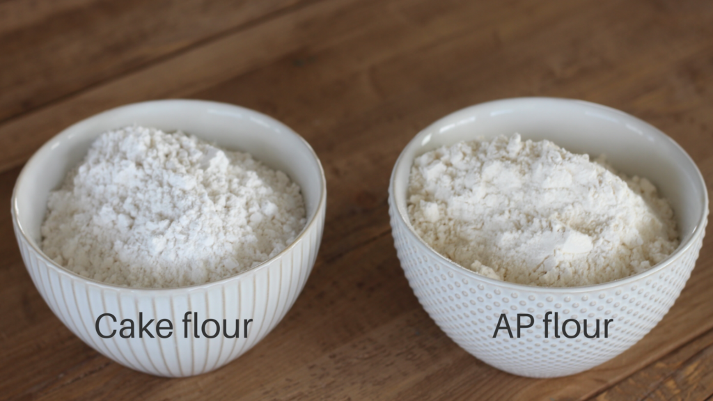 how to make homemade cake flour. Here is my recipe and everything you need to know about cake flour. cakebycourtney.com