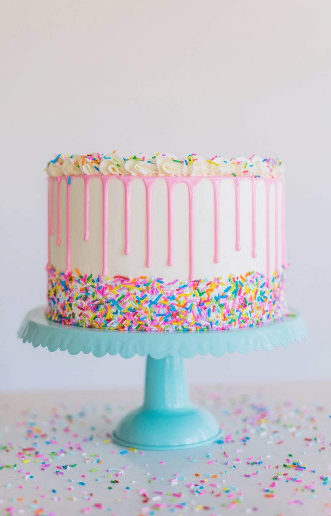 Amazing Funfetti Birthday Cake Cake By Courtney Personalised Birthday Cards Veneteletsinfo