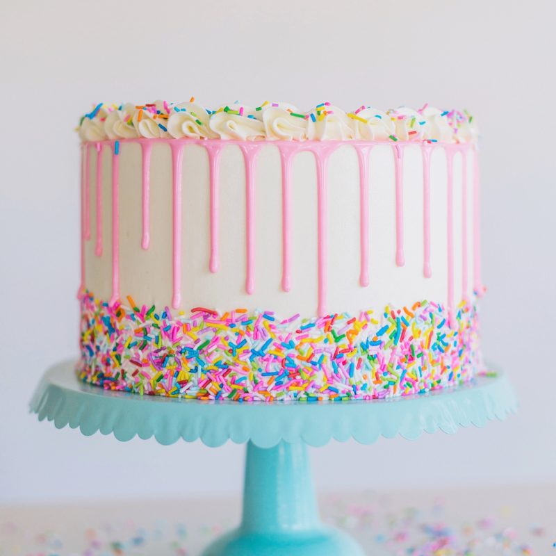 Fabulous Funfetti Birthday Cake Cake By Courtney Funny Birthday Cards Online Unhofree Goldxyz