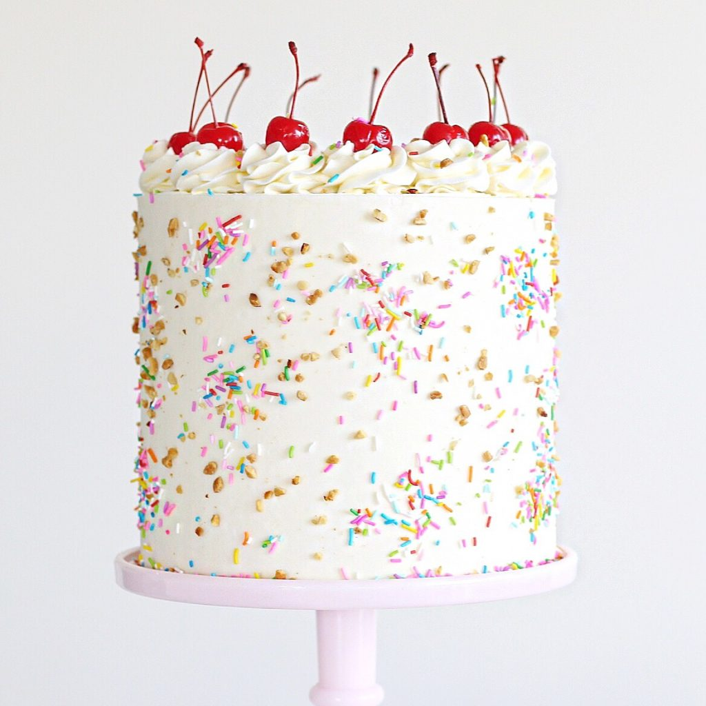 Ice Cream Sundae Cake | Cake by Courtney
