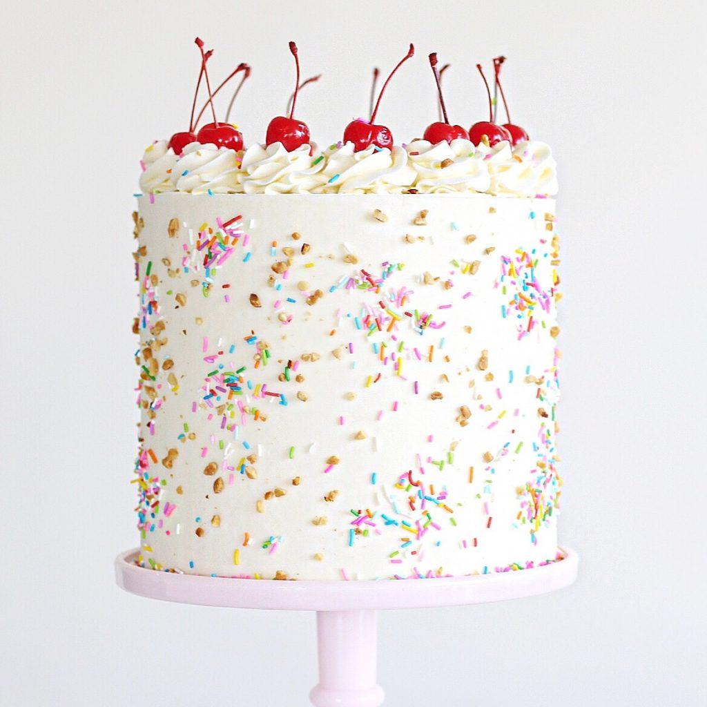 Ice Cream Sundae Cake | Cake by Courtney