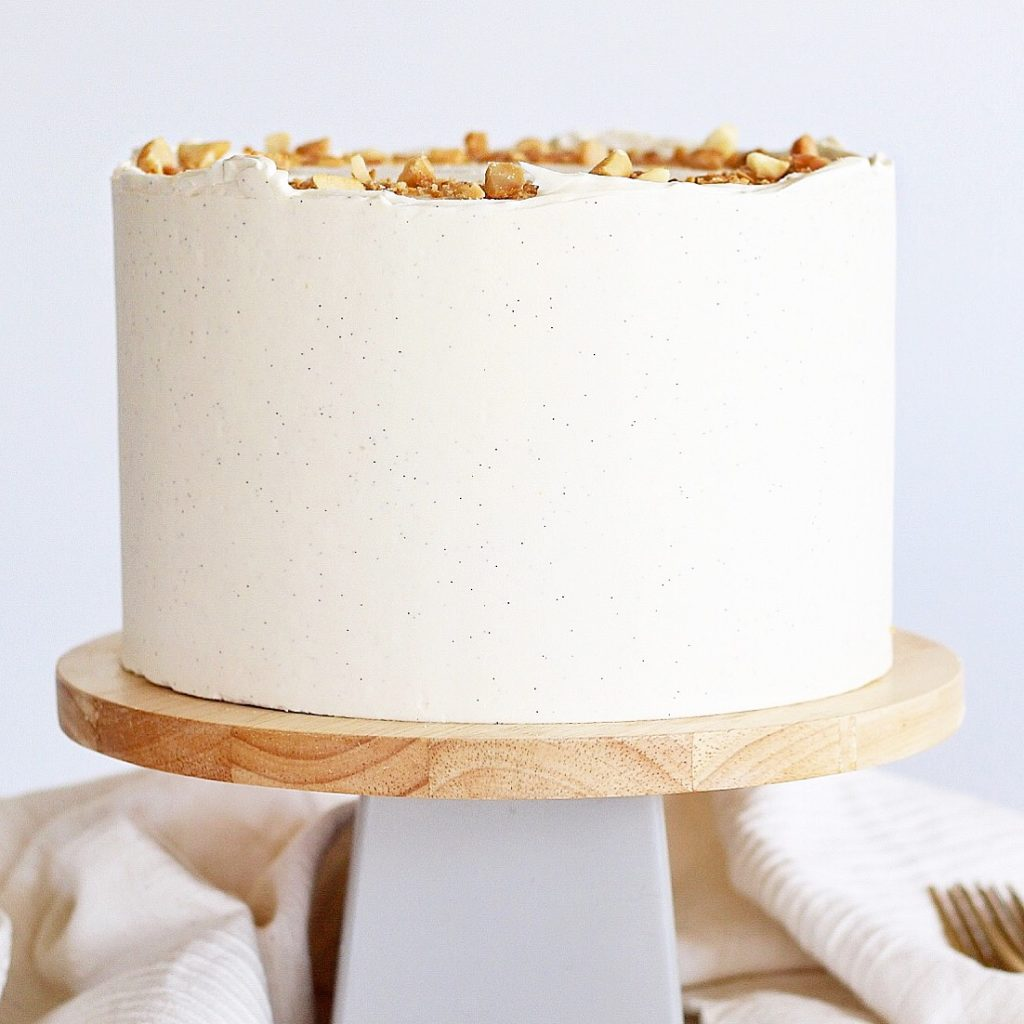 Macadamia Nut Cream Cake | Cake by Courtney
