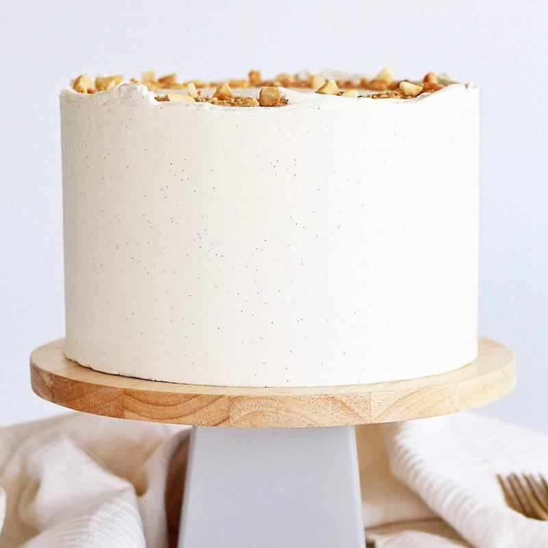 Macadamia Nut Cream Cake | Cake by Courtney