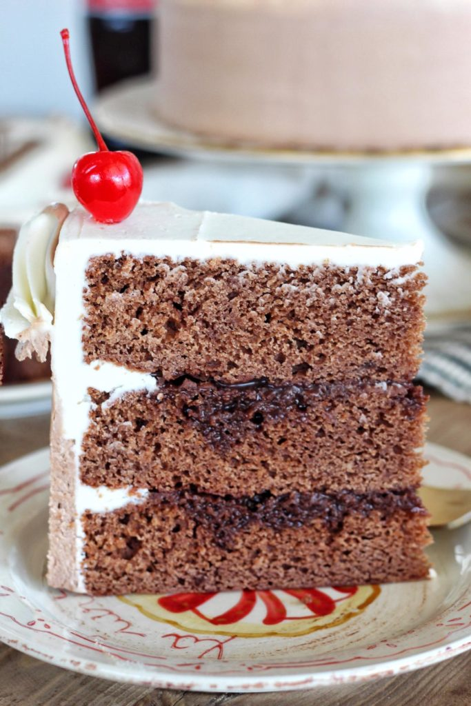 Chocolate Cola Cake | Cake by Courtney#cakebycourtney #chocolatecolacake #colacake #chocolatecake #southerncolacake #colacakerecipe