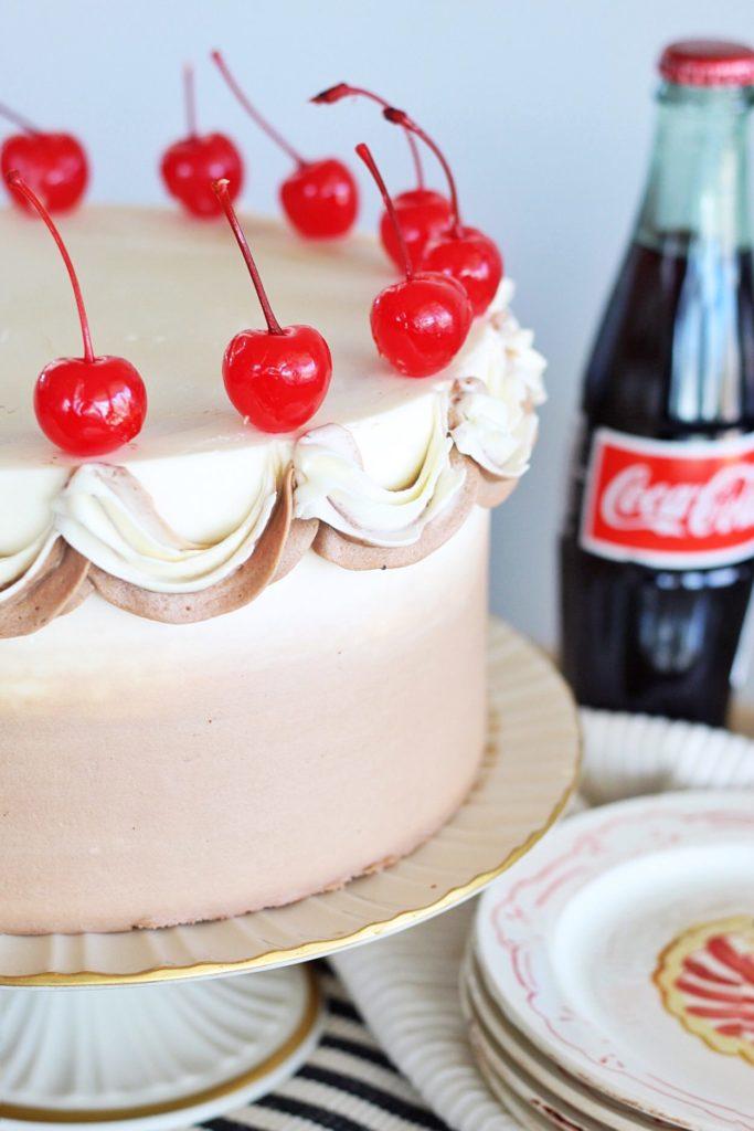 Chocolate Cola Cake | Cake by Courtney#cakebycourtney #chocolatecolacake #colacake #chocolatecake #southerncolacake #colacakerecipe