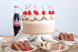 Chocolate Cola Cake   Cake by Courtney#cakebycourtney #chocolatecolacake #colacake #chocolatecake #southerncolacake #colacakerecipe