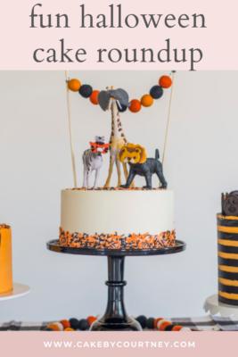 Fun Halloween Cake Roundup from Cake By Courtney www.cakebycourtney.com