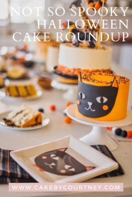 Not So Spooky Halloween Cake Roundup www.cakebycourtney.com