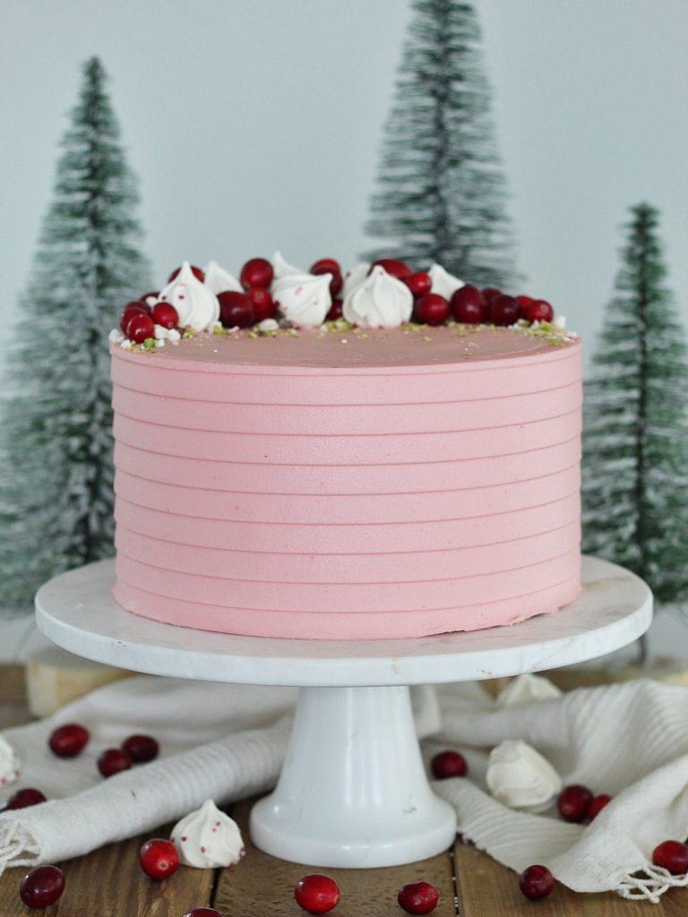Pistachio Cranberry Cake | Cake by Courtney