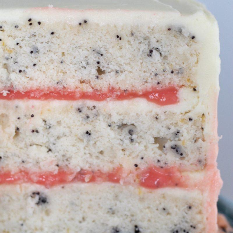 Grapefruit Poppy Seed Cake #cakebycourtney #grapefruit #poppyseedcake #deliciouscake #cake