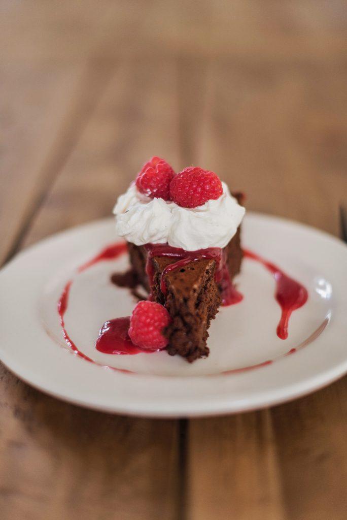 Flourless Chocolate Cake   Cake by Courtney