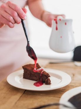 Flourless Chocolate Cake that is lovely