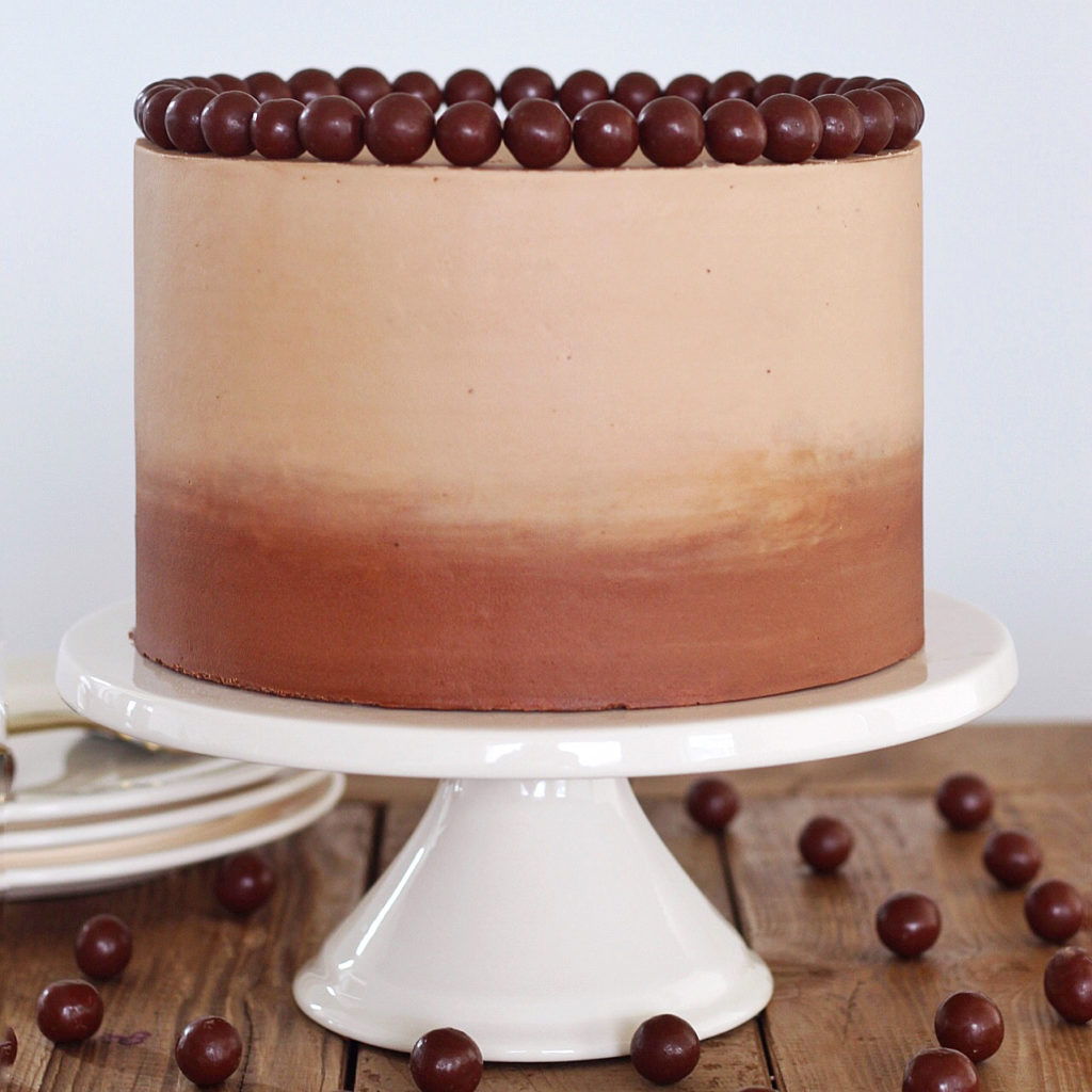 Chocolate Malt Cake | Cake by Courtney