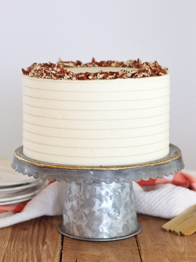 The Most Delicious Classic Carrot Cake | Cake by Courtney