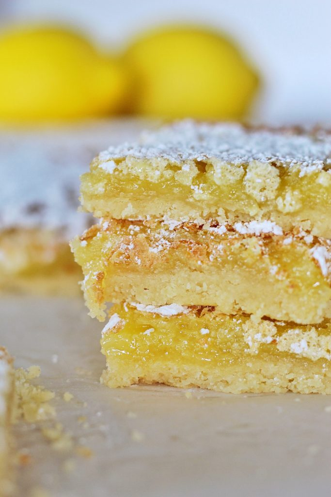 Mom's Legendary Lemon Bars | Cake by Courtney
