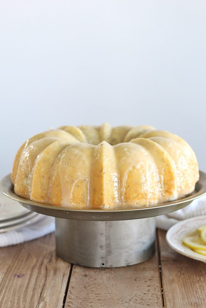 Lemon Poppy Seed Bundt Cake | Cake by Courtney