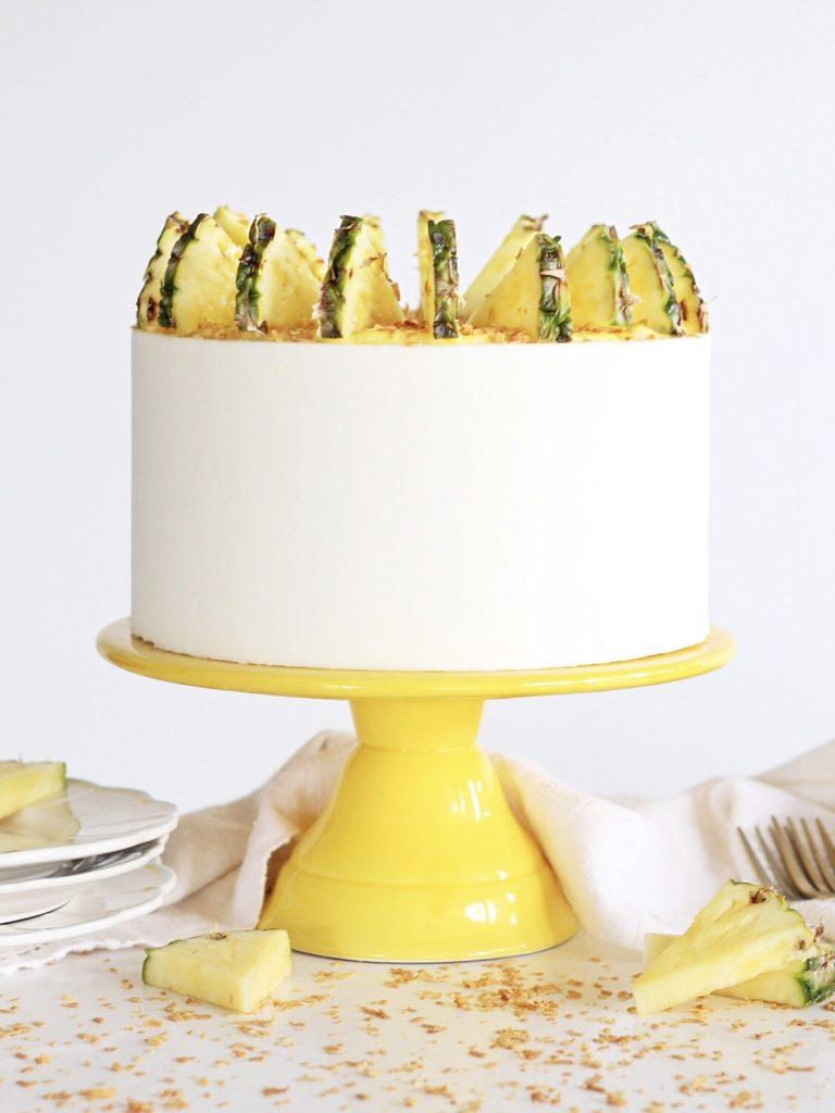 Piña Colada Cake   Cake by Courtney