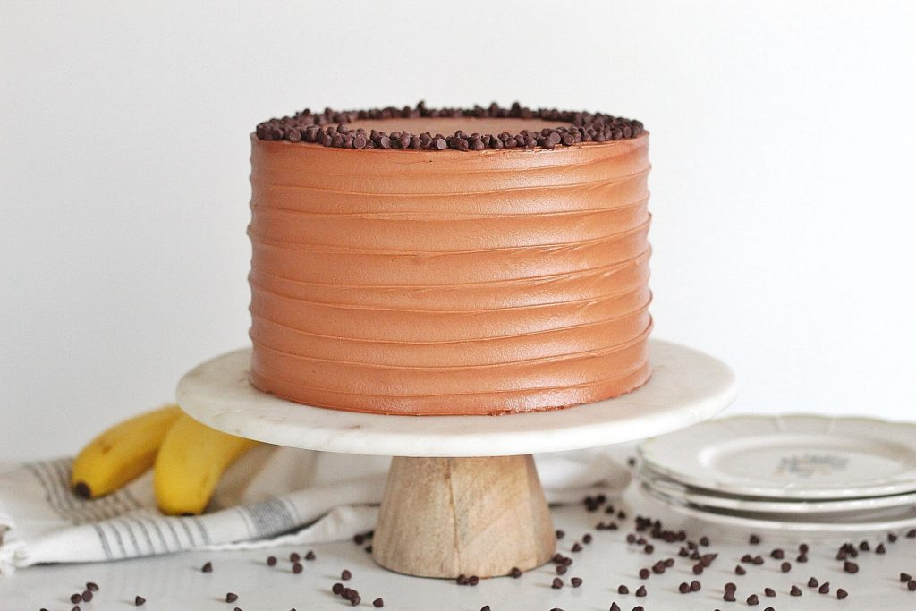 Triple Chocolate Banana Cake | Cake by Courtney