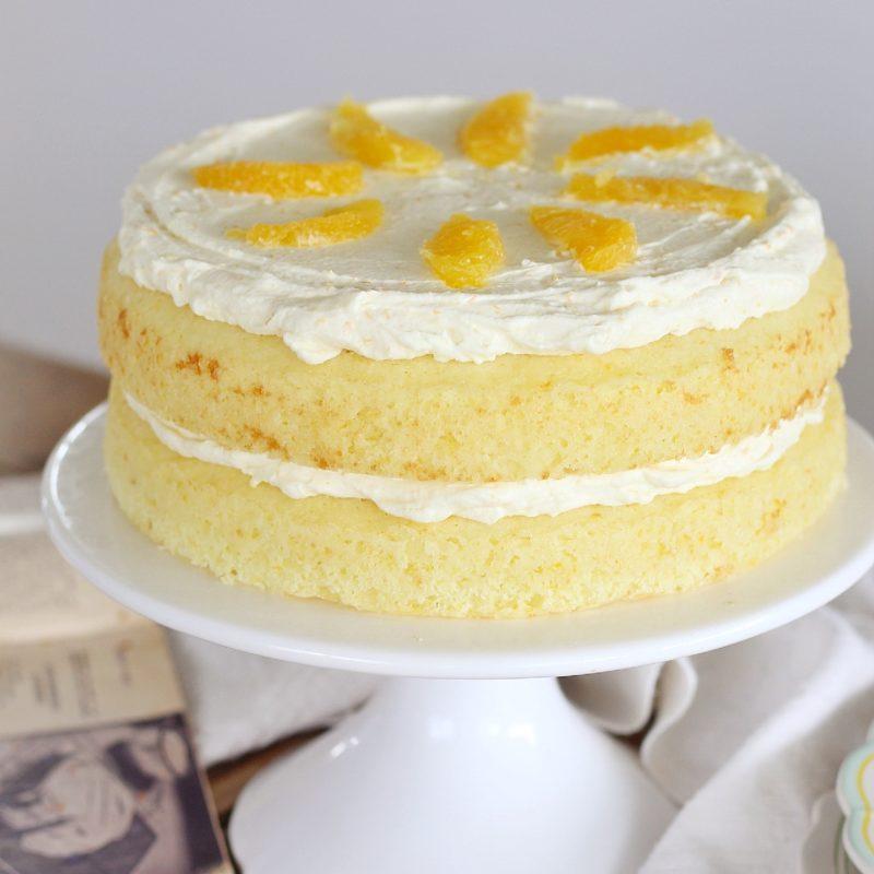 Florida Orange Flower Cake | Cake by Courtney