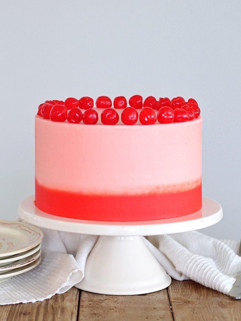 Cherry Chip Cake | Cake by Courtney