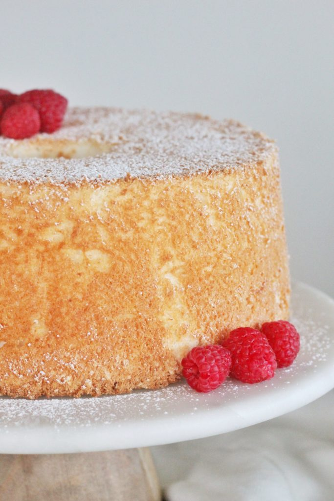 Angel Food Cake | Cake by Courtney