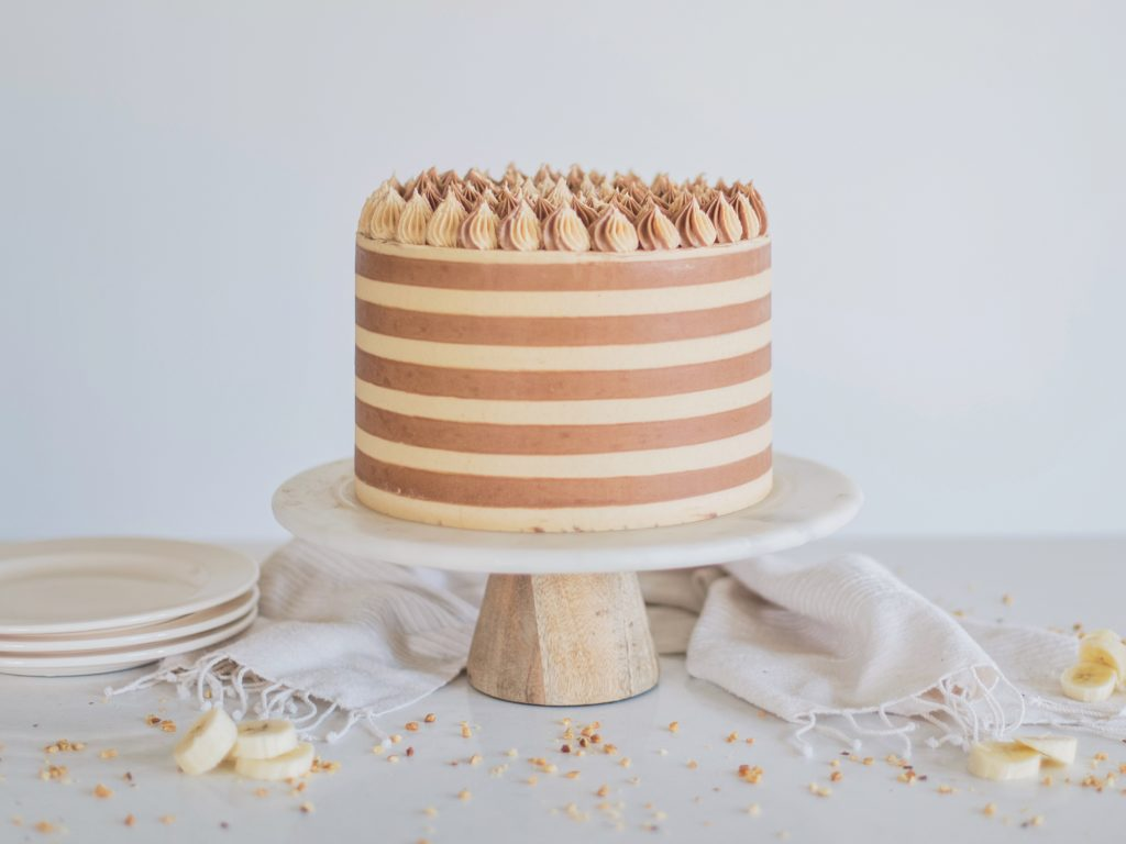 Chocolate Banana Peanut Butter Cake | Cake by Courtney