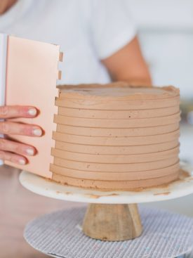 How to Use Textured Cake Scrapers