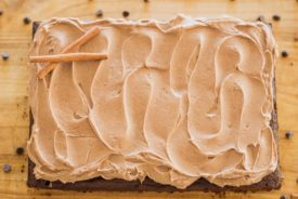 Chocolate Spice Cake - tender, moist chocolate spice cake with chocolate spice buttercream #easychocolatecakerecipe #easychocolatecake #chocolatecake #desserts #fall #falldesserts #fallcake #fallcakeideas #chocolatebuttercream #thebestchocolatebuttercream #chocolatefrosting #chocolatecake #chocolatespicecake #falldesserts #cakebycourtney
