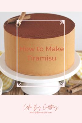 Delicious and creamy tiramisu