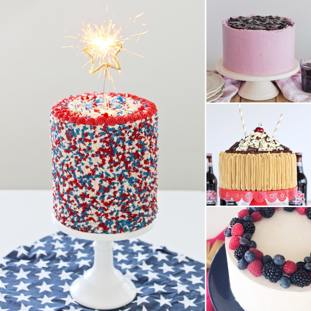 4th of July Cakes | Cake by Courtney