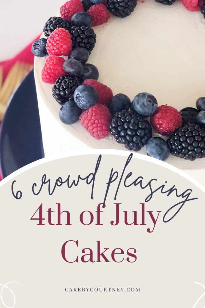 Yummy 4th of July Cakes