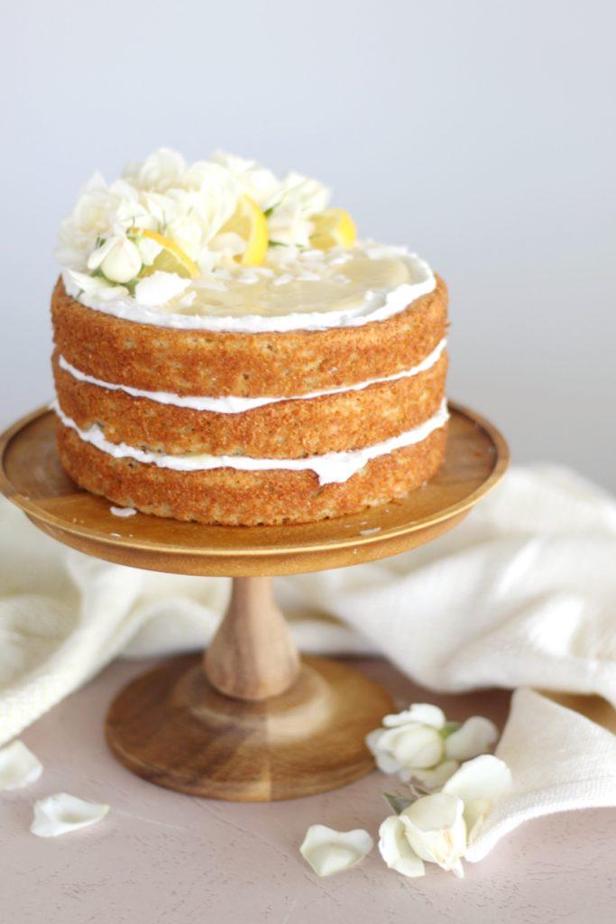 Sweet Laurel Bakery Fluffy Lemon Coconut Cake | Cake by Courtney