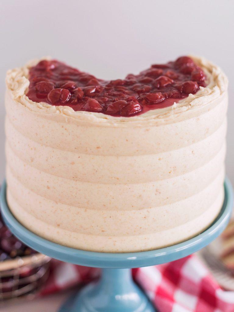 Cherry Cheese Pie Cake