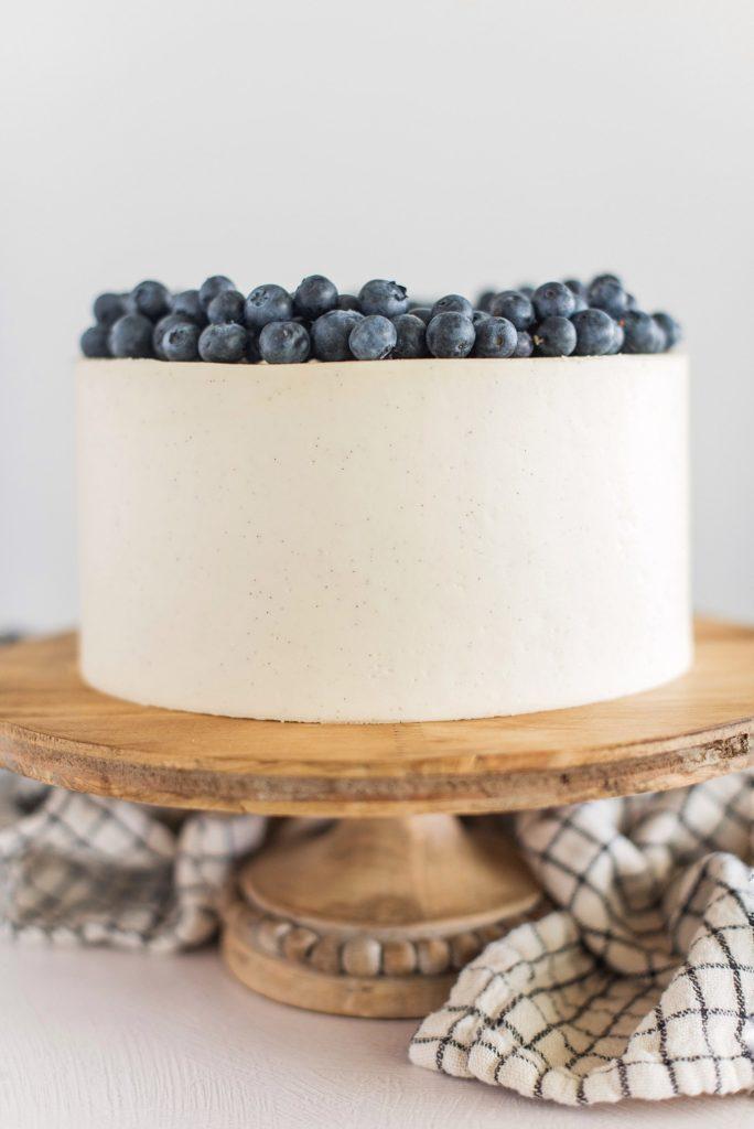 Blueberry Cobbler Cake