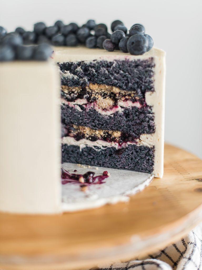 Blueberry Cobbler Cake | Cake by Courtney