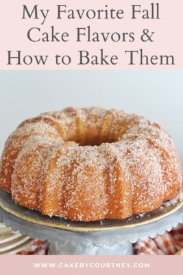 try these fun and easy fall cake recipes. www.cakebycourtney.com
