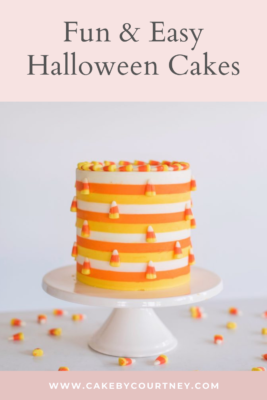 my top tips for decorating halloween themed cakes. www.cakebycourtney.com