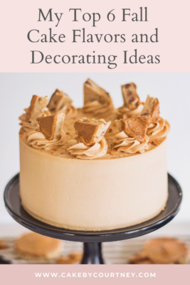 how to decorate a fall themed cake. www.cakebycourtney.com