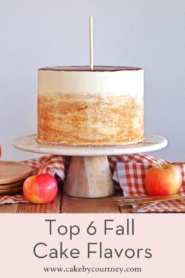 how to make the best fall cake recipes. www.cakebycourtney.com