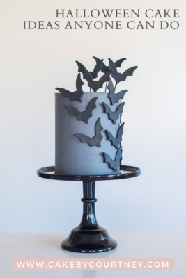 fun halloween cakes you can decorate with your kids. www.cakebycourtney.com