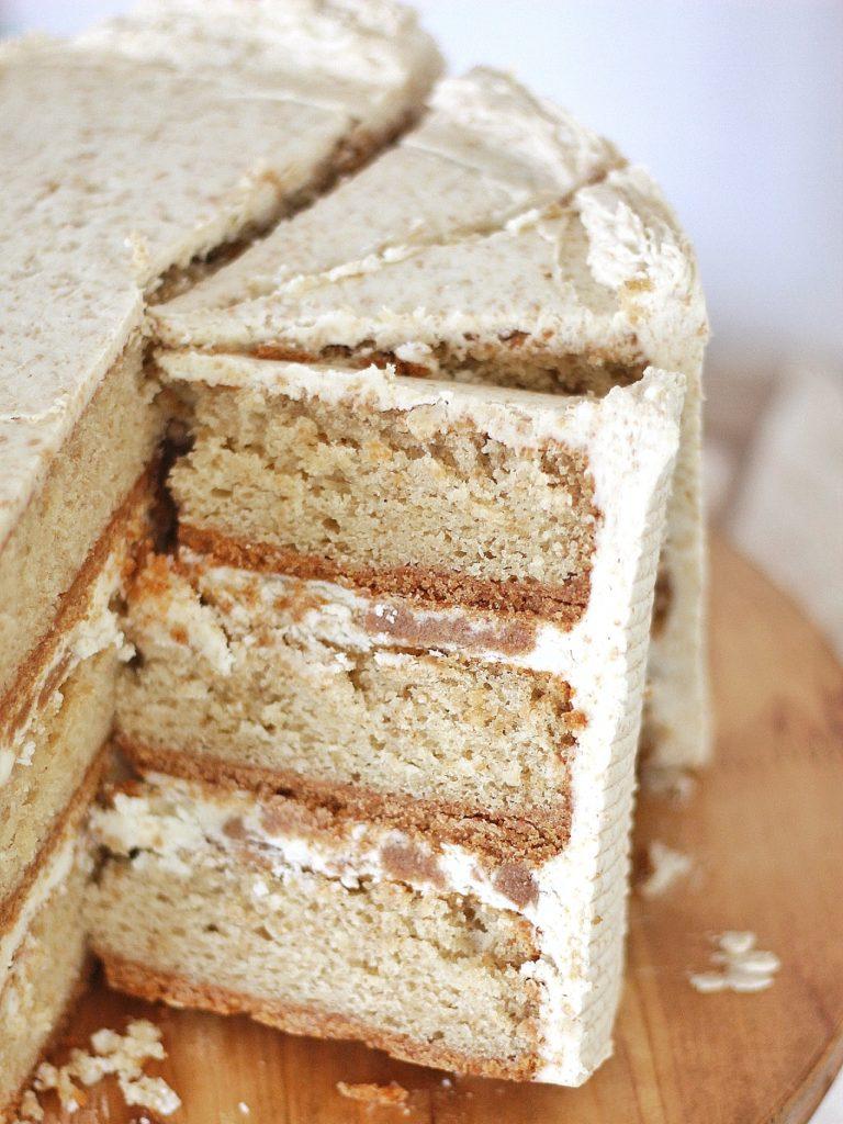 Graham Slam Cake (Decadent Graham Cracker Cake) | Cake by Courtney