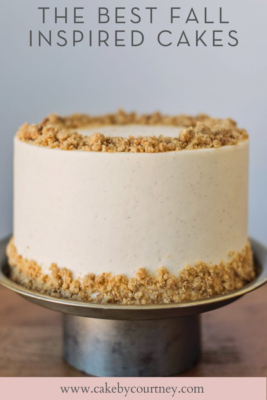 tips and tricks to making and decorating fall cakes. www.cakebycourtney.com