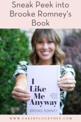 brooke romney's thoughts on her new book. www.cakebycourtney.com